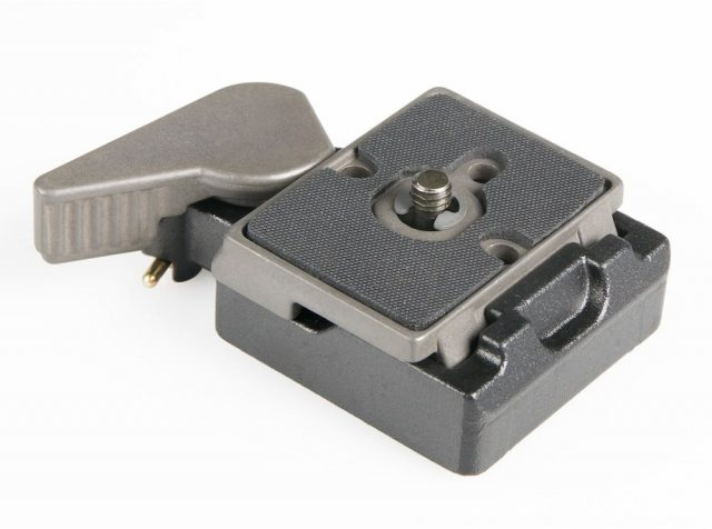 Manfrotto Manfrotto 323 Rectangular Quick Release Plate Adapter
