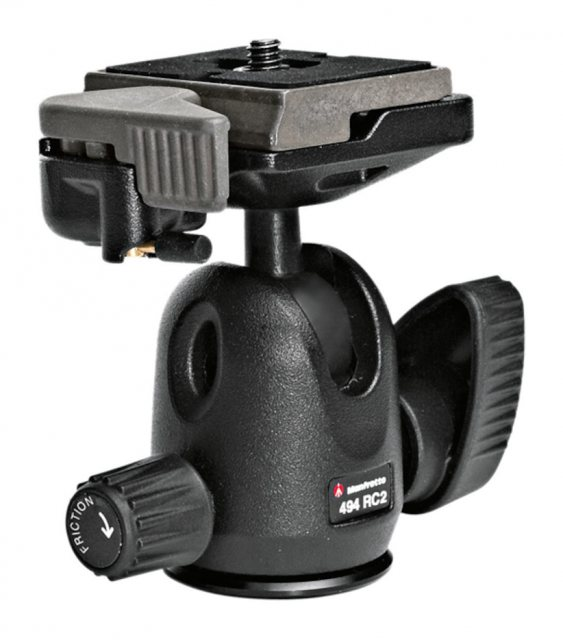 Manfrotto Manfrotto 494RC2 Mini Ball Head with RC2 quick release plate