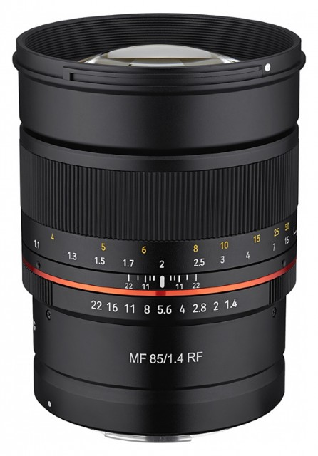 Samyang Samyang 85mm F1.4 RF Manual Focus for Canon EOS R