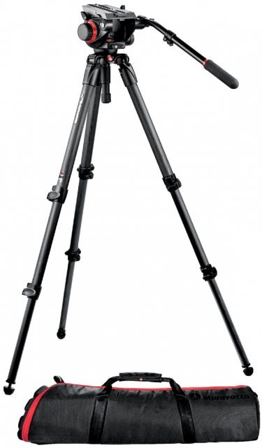 Manfrotto Manfrotto 535 CF Video Tripod with 504HD Head