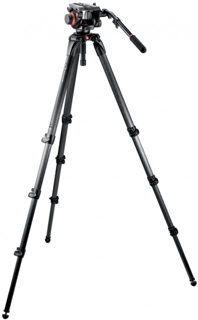 Manfrotto Manfrotto 536 CF Video Tripod with 504HD Head