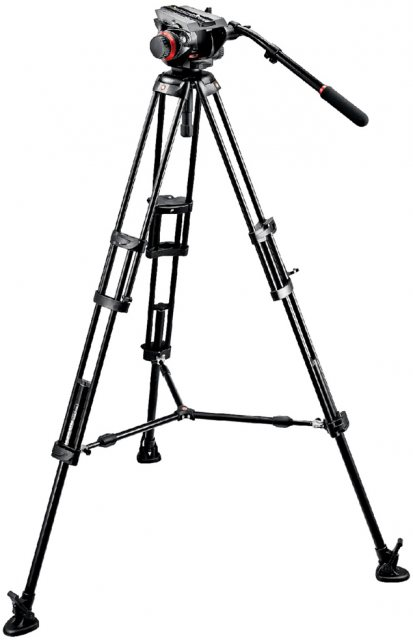 Manfrotto Manfrotto 546B Video Tripod with 504HD Head