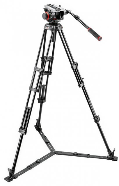 Manfrotto Manfrotto 546GB Video Tripod with 504HD Head