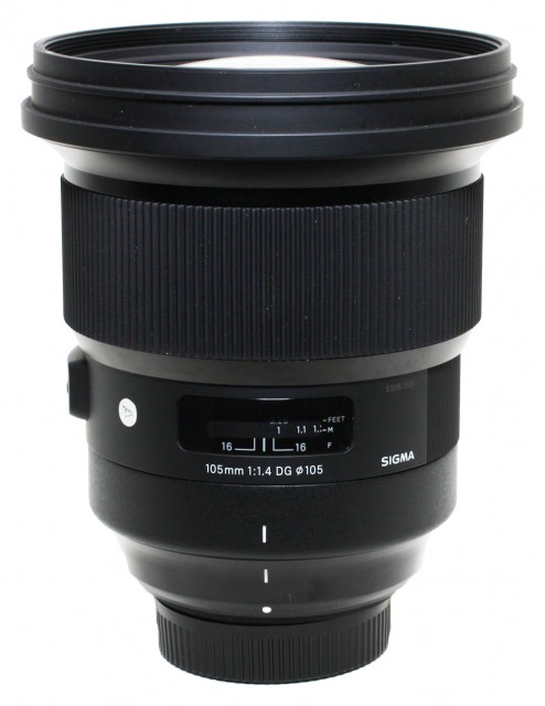Sigma Used Sigma 105mm f1.4 DG HSM for Nikon AF