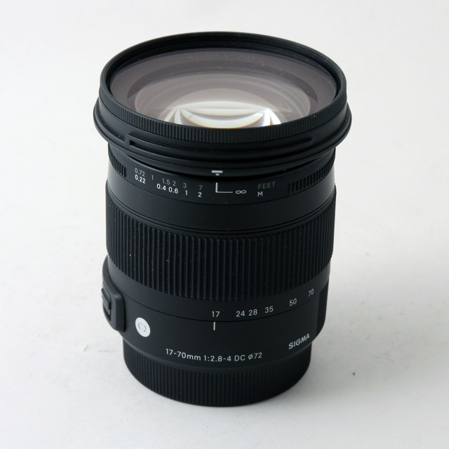 Sigma Used Sigma 17-70mm f2.8-4 DC HSM for Sony A mount