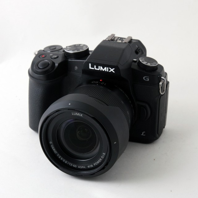 Panasonic Used Panasonic DSC-G80, 12-60 black