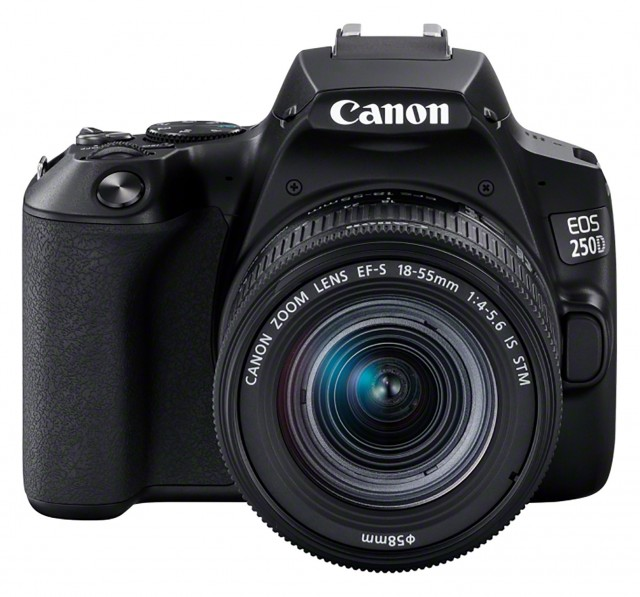 Canon Canon EOS 250D, black with 18-55mm IS STM lens