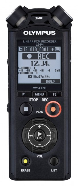 Olympus Olympus LS-P4 Linear PCM Recorder, Video Kit