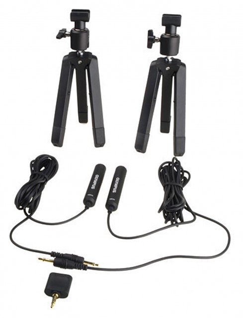 Olympus Olympus ME-30 2-Channel Professional Microphone Kit