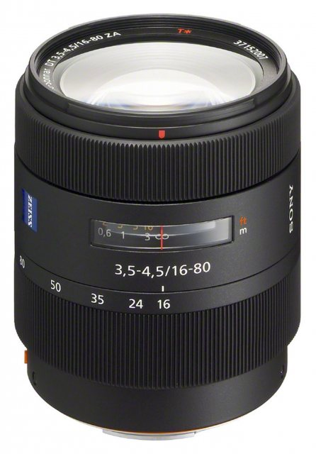 Sony Sony 016- 80mm F3.5-4.5 ZA Zeiss Vario Sonnar T*