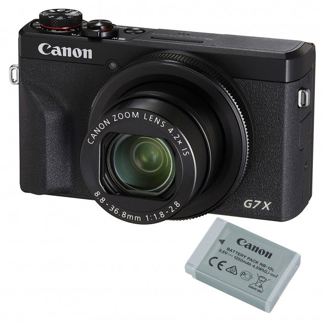 Canon Canon PowerShot G7 X Mark III Battery Kit, Black