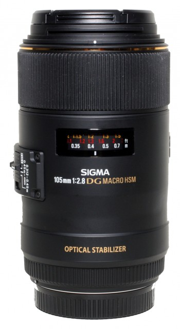 Sigma Used Sigma 105mm f2.8 DG HSM OS Macro for Canon EOS