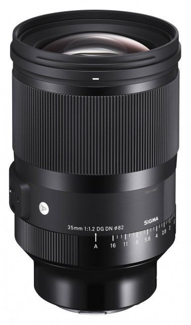 Sigma Sigma 35mm f1.2 DG DN Art lens for Sony FE