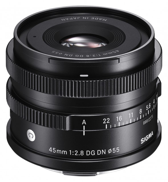 Sigma Sigma 45mm f2.8 DG DN Contemporary lens for L mount