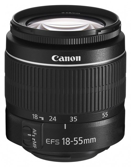 Canon Canon EF-S 18-55mm f3.5-5.6 III lens