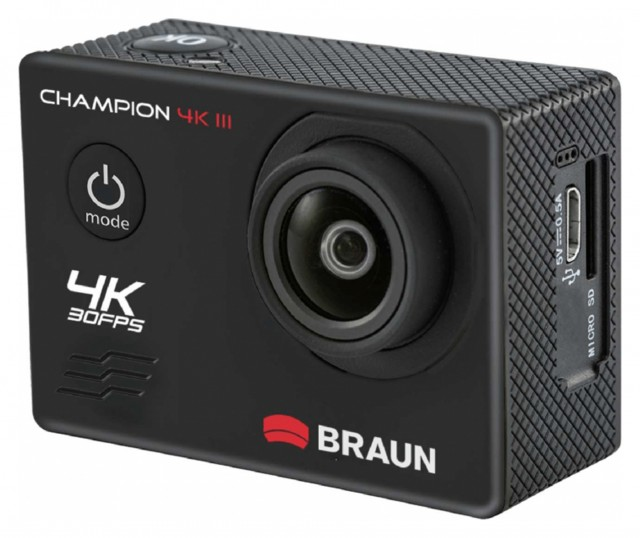 Sundry Braun  Photo Technik Champion 4K III Action Cam, black