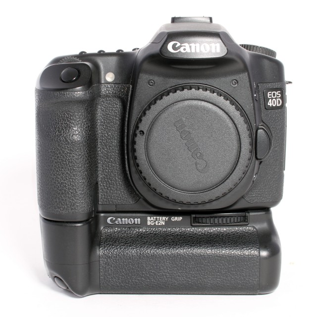 Canon Used Canon EOS 40D body with BG-E2N Battery Grip