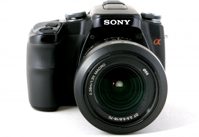 Sony Used Sony A100 with 18-70mm  and 80-200mm
