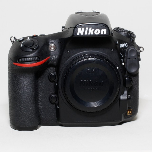 Nikon Used Nikon D810 with Battery Grip