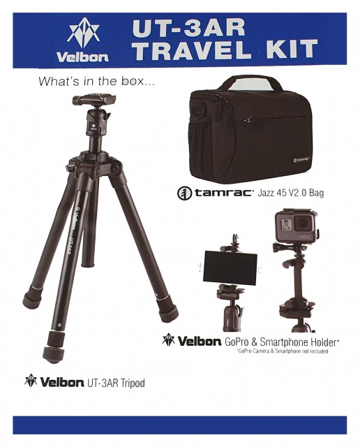 Velbon Velbon UT-3AR Tripod Travel Kit