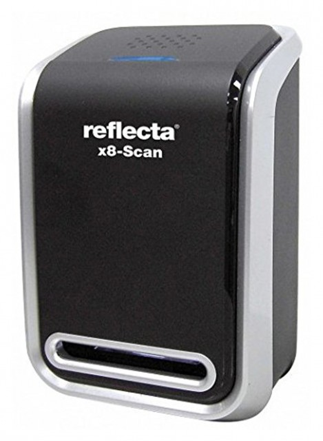Sundry Reflecta Slide/Negative Scanner X8, Black/Silver