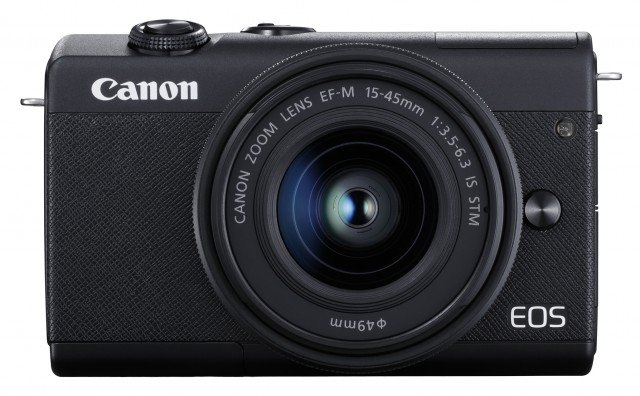 Black Canon EOS M200 Camera with 15-45mm lens