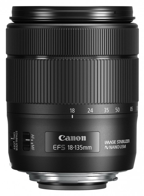 Canon Canon EF-S 18-135mm f3.5-5.6 IS USM lens in plain box