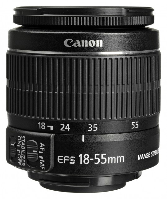 Canon Canon EF-S 18-55mm f3.5-5.6 IS II lens in plain box