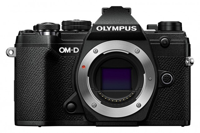 Olympus Olympus E-M5 Mark III Mirrorless Camera, Black with 12-40mm Pro Lens