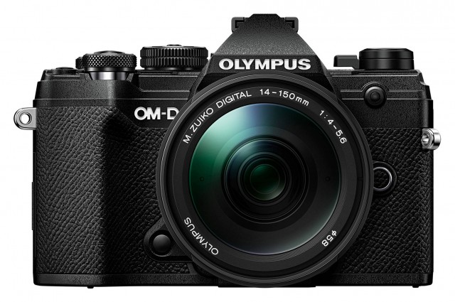 Olympus Olympus E-M5 Mark III Mirrorless Camera with 14-150mm lens, Black