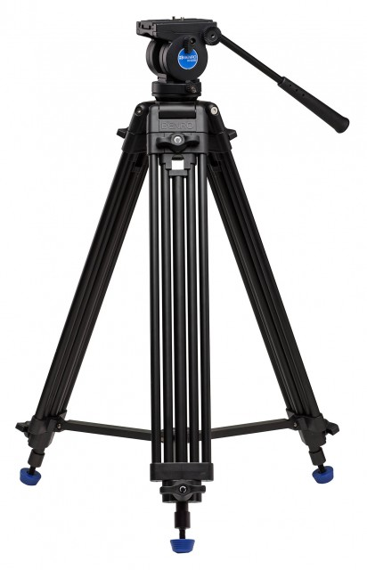 Benro Benro Aluminium Dual-Tube 3-section Tripod with K5 Video Head