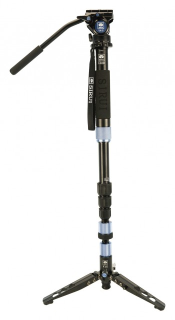 Sirui Sirui P-204SR Monopod with VA-5 head and stand