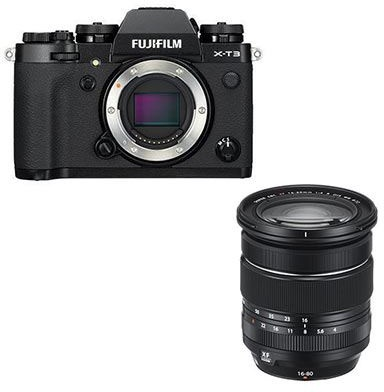 Fujifilm Fujifilm X-T3 Kit with XF 16-80mm lens, Black