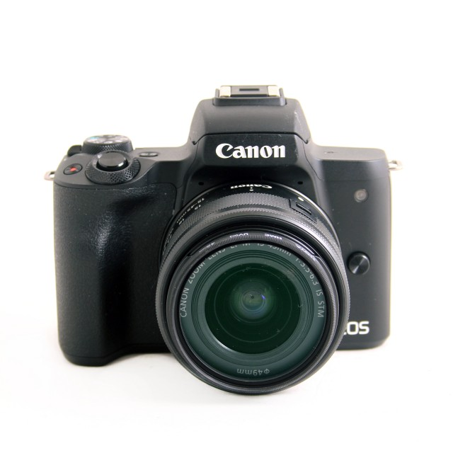 Canon Used Canon EOS M50 with 15-45