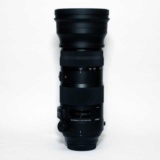 Sigma Used Sigma 150-600mm f5.6-6.3 DG OS HSM Sport for Canon EOS