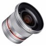 Samyang 12mm f2.0 Wide angle lens for Micro Four Thirds, Silver