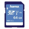 Hama SDXC Card, 64gb UHS-I 80mb/sec